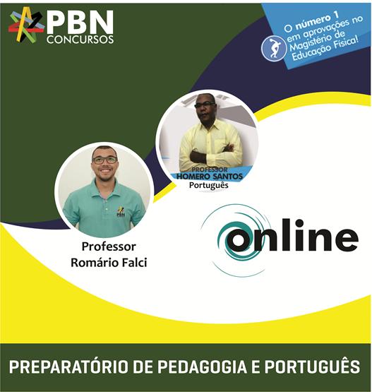 COMBO - Preparatório de Pedagogia + Preparatório de Português
